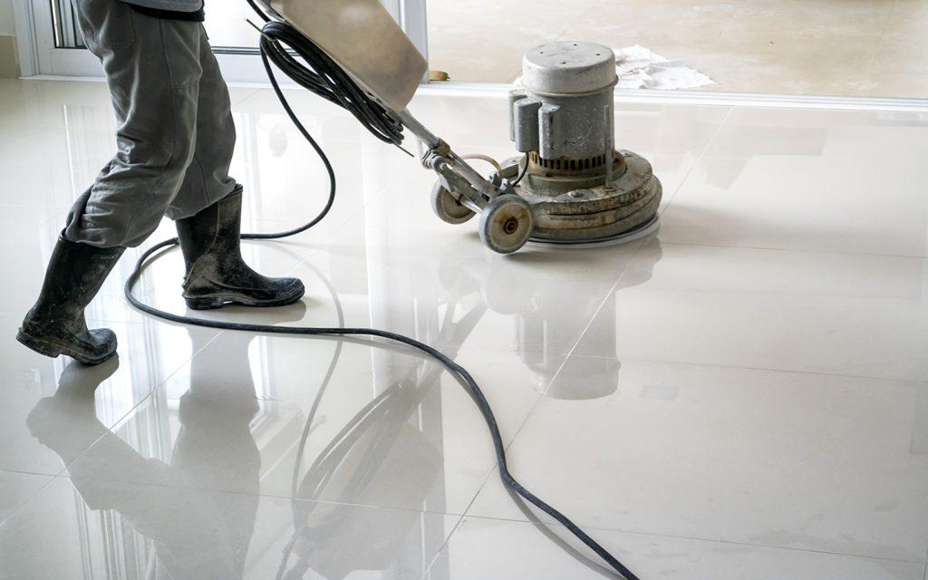 marmerenvloer onderhouden en schoonmaken