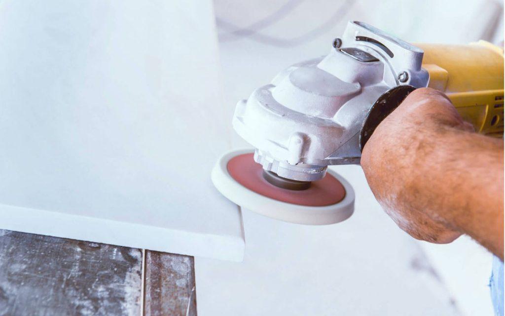marmer polijsten maakt je natuursteen als nieuw
