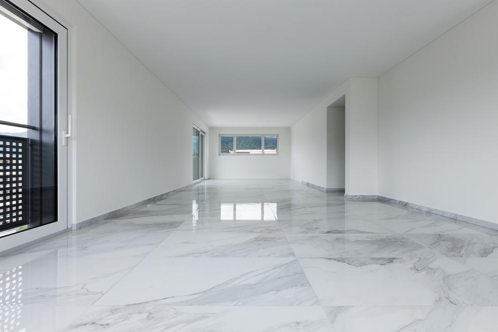 natuursteen of marmer vloer